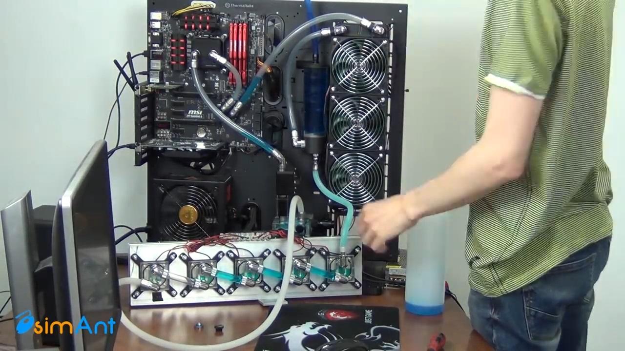 Охлаждение процессора модулями Пельтье