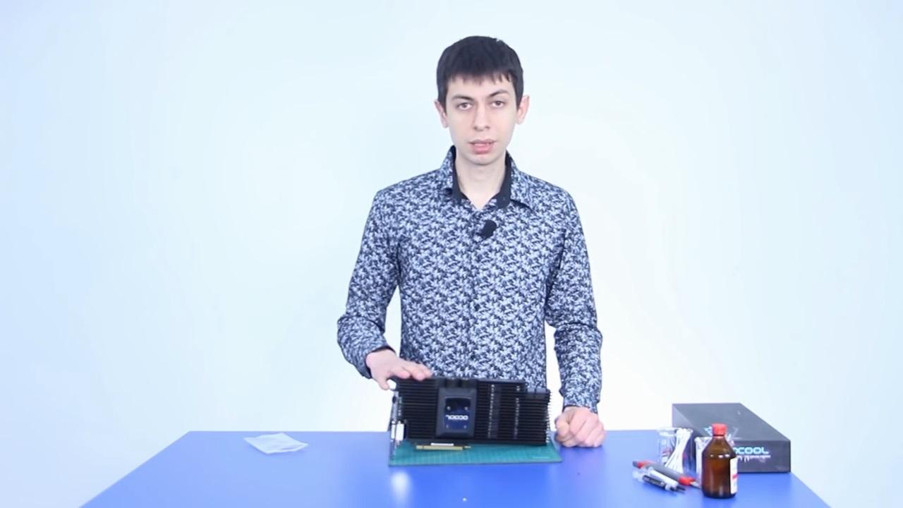 Переобувка GTX 1080 в водоблок от Alphacool