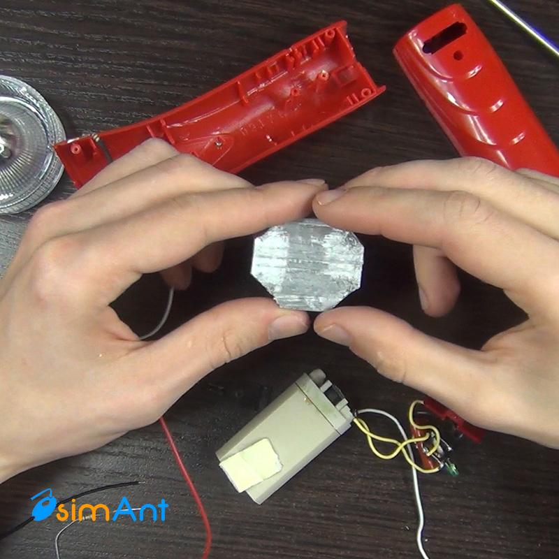 Светодиодный фонарь своими руками на аккумуляторе 253