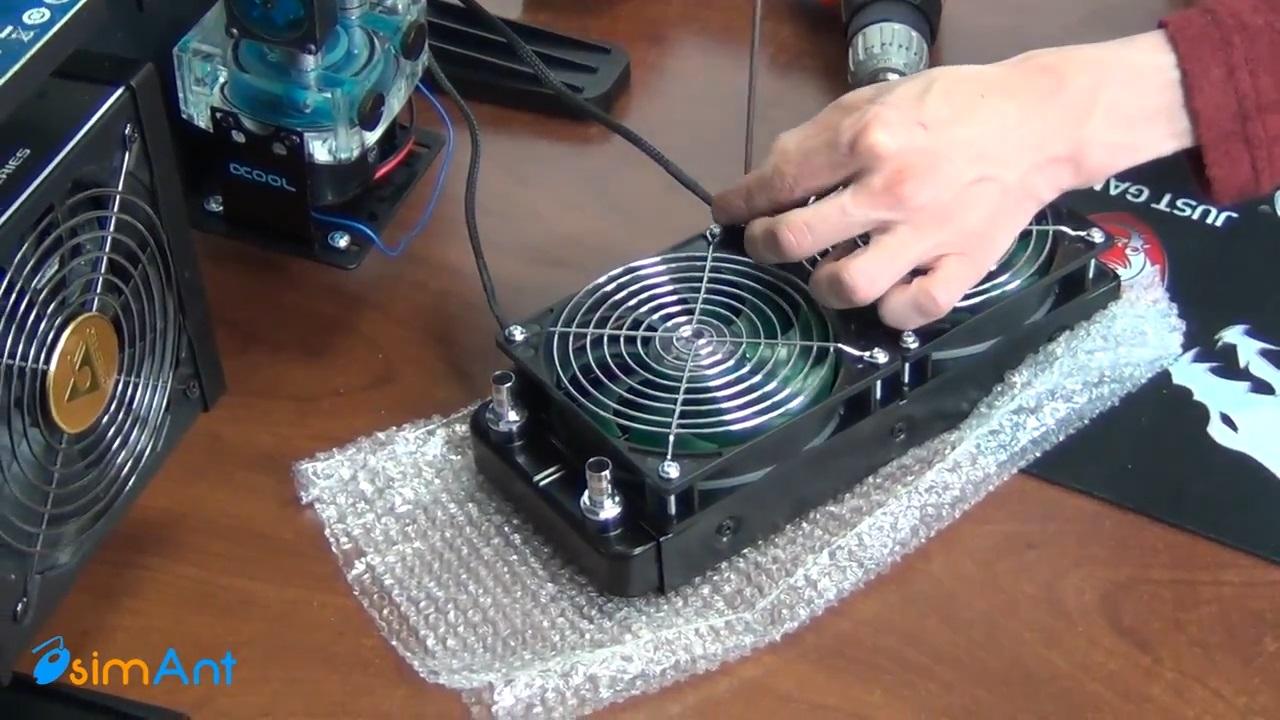 Водяное охлаждение компьютера своими рук