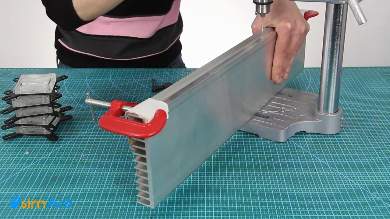 Система водяного охлаждения на модулях Пельтье на Процессор