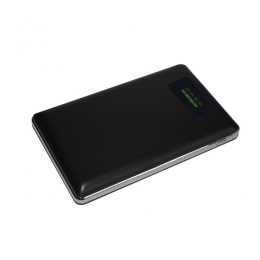 Фото Внешний аккумулятор (Power Bank) Smartfortec 10000 mAh LCD-экран Черный (PBK-10000-LCD-N black)