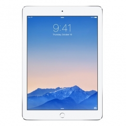 Фото Планшет Apple A1566 iPad Air 2 Wi-Fi 16GB Silver (MGLW2TU/A)
