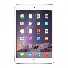 Фото Планшет Apple A1600 iPad mini 3 Wi-Fi 4G 16GB Silver (MGHW2TU/A)