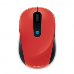 Фото Мышь Microsoft Sculpt Mobile WL Flame Red (43U-00026)