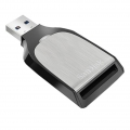 Фото Кардридер SanDisk USB 3.0 SDHS/UHS-I/UHS-II Silver/Black (SDDR-399-G46)