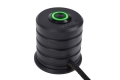 Фото Переключатель Alphacool 19mm Green Lighting - Deep Black